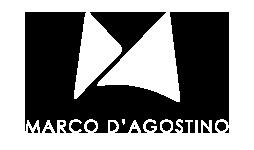 MARCO D'AGOSTINO STUDIO logo bianco