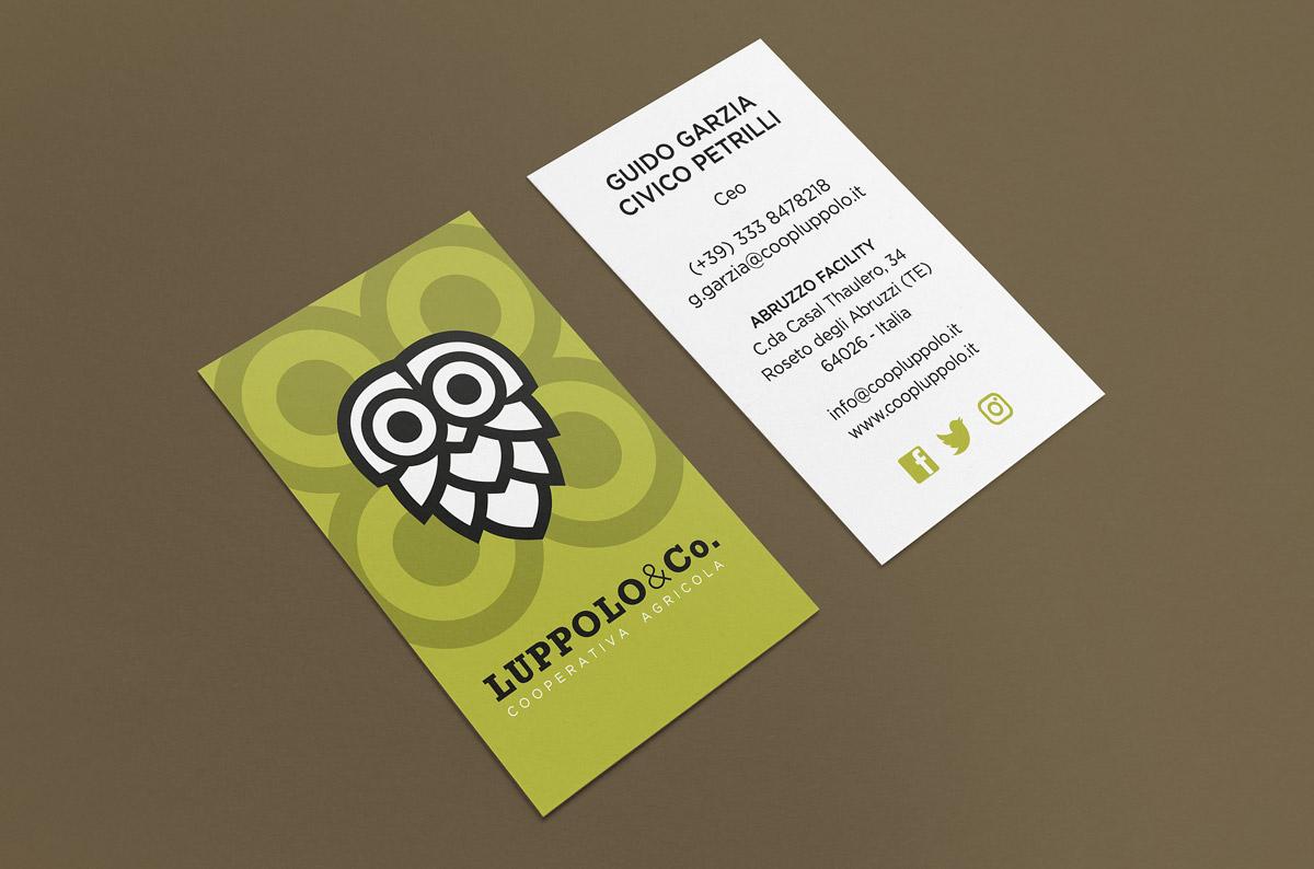 Luppolo&Co., Biglietto da visita