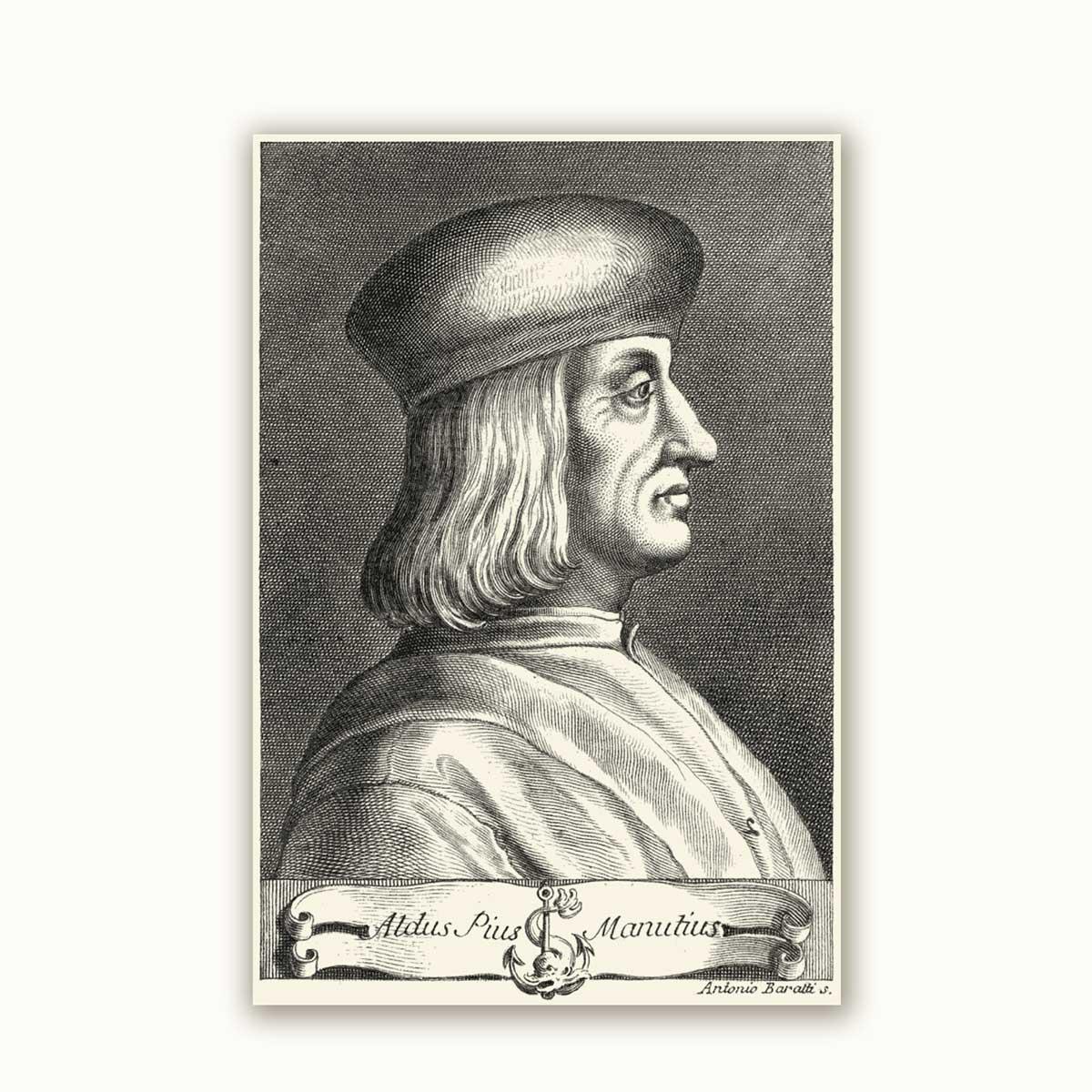 Aldo Manuzio, Baratti
