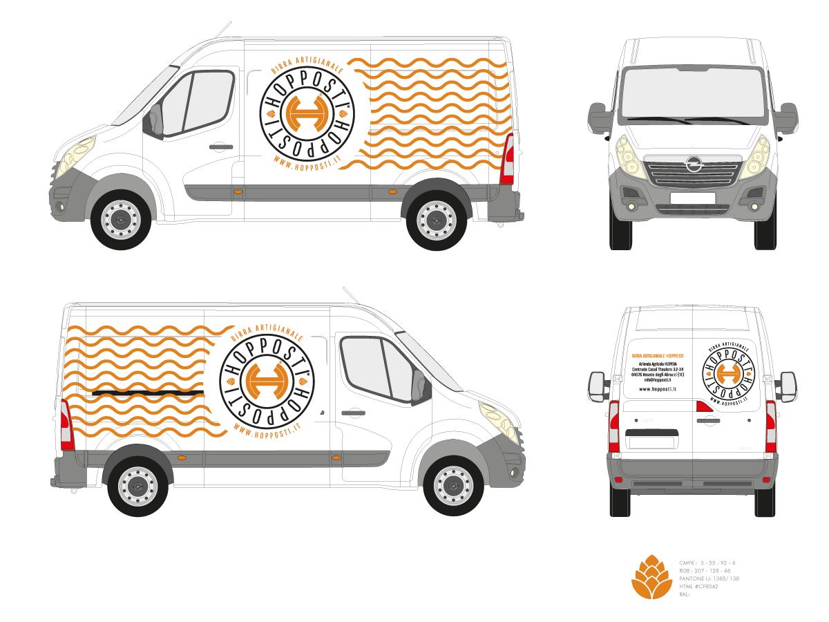 HOPPOSTI, furgone Opel Movano