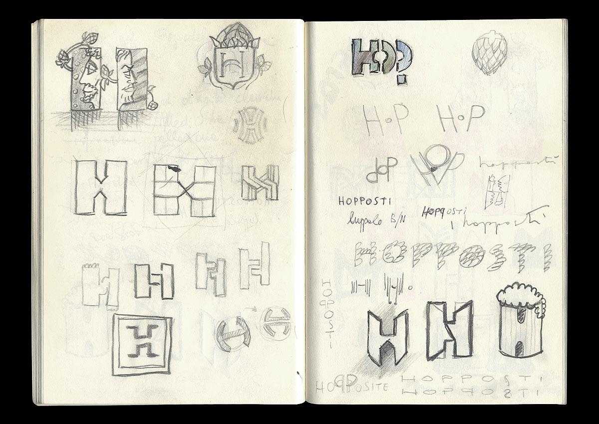 HOPPOSTI, sketch