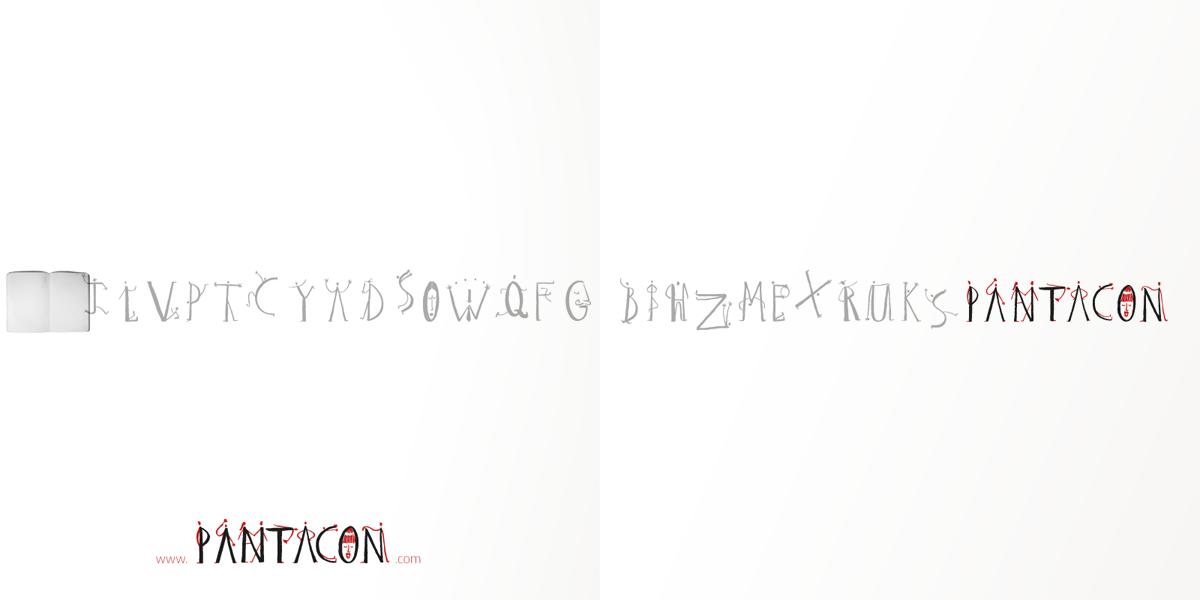 PANTACON, Brochure copertina