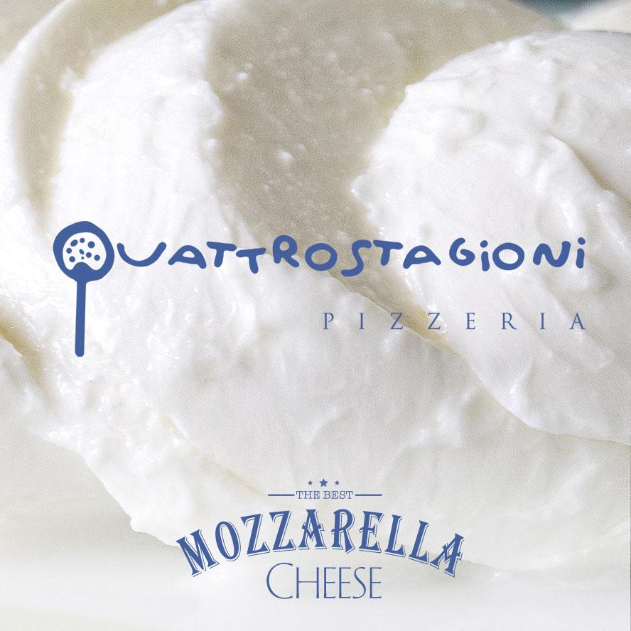 Quattrostagioni, Mozzarella