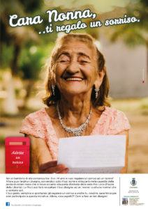 Locandina di Adotta un Nonno, ProLoco Legnago, 'nonna'