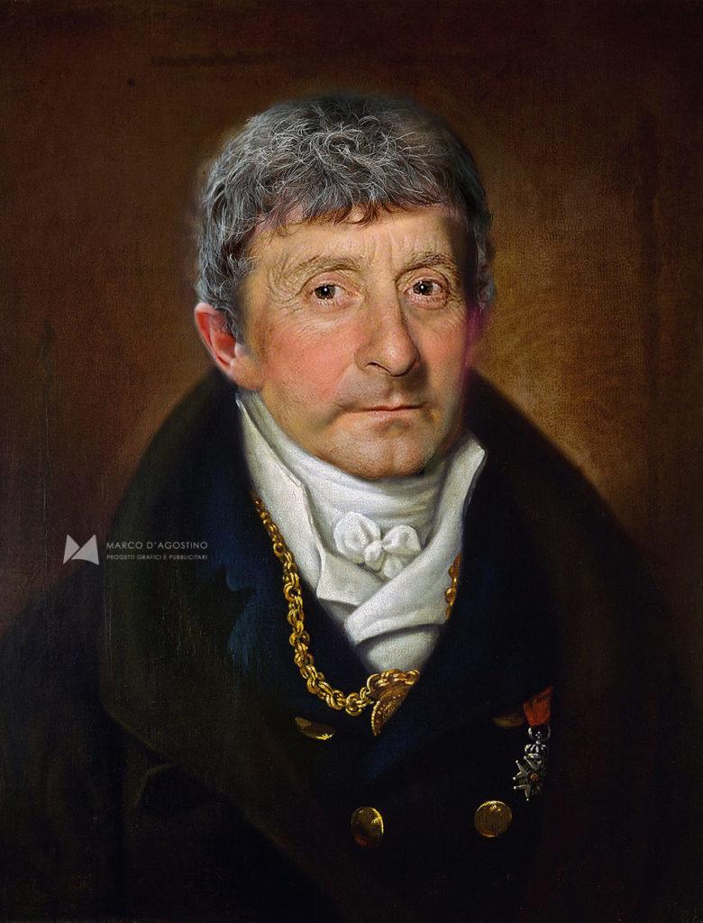Ritratto di Antonio Salieri, ricostruzione 2020