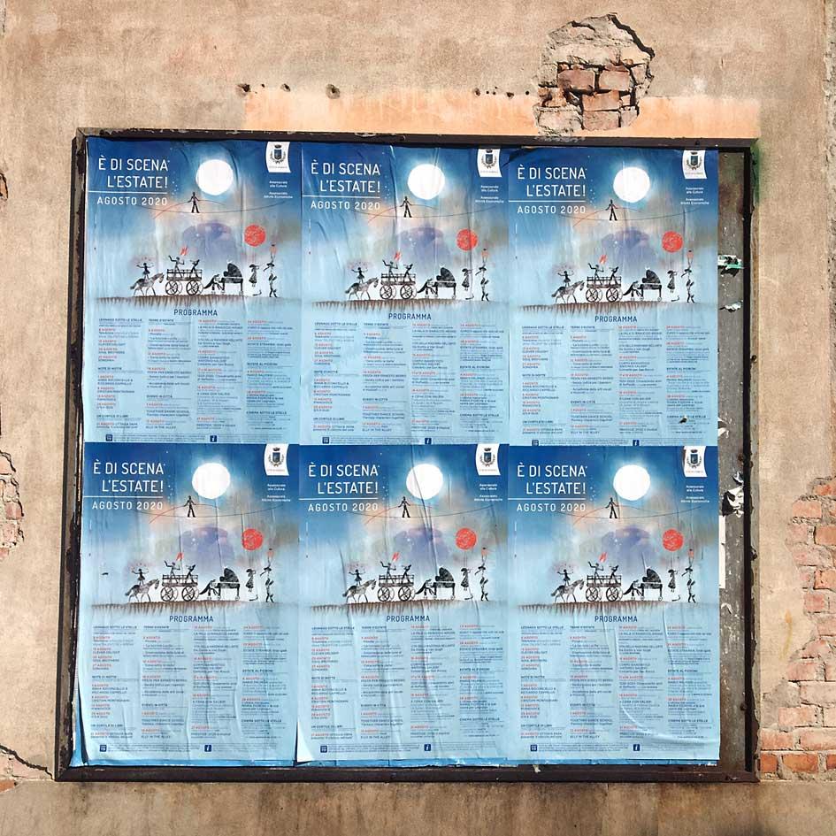 È di scena l'estate, Legnago 2020 - Poster 70x100