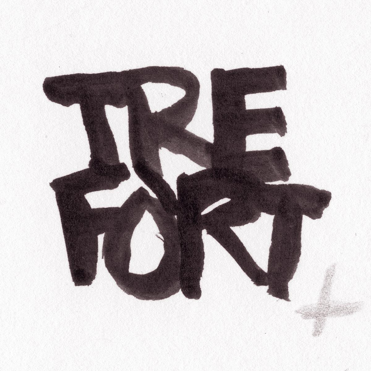 TreFort-Bonomelli, Logo-sketch
