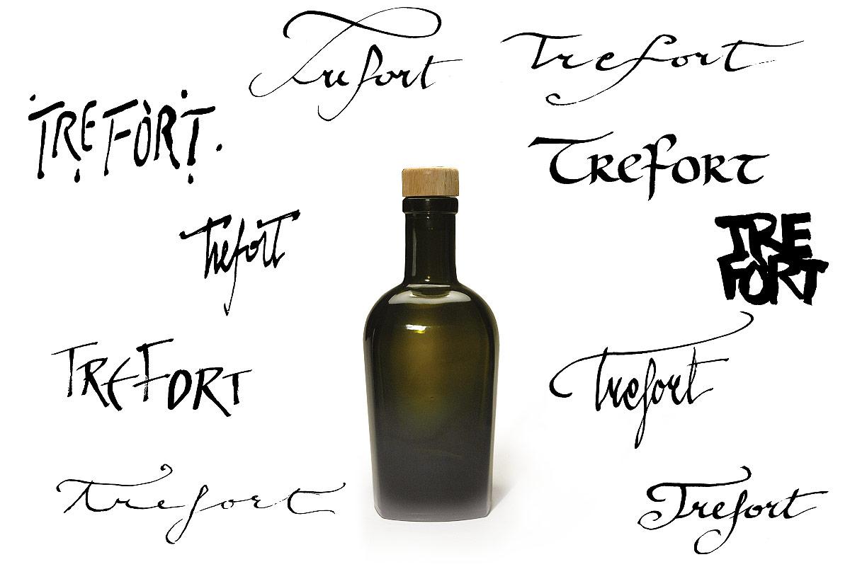 TreFort-Bonomelli, calligrafia