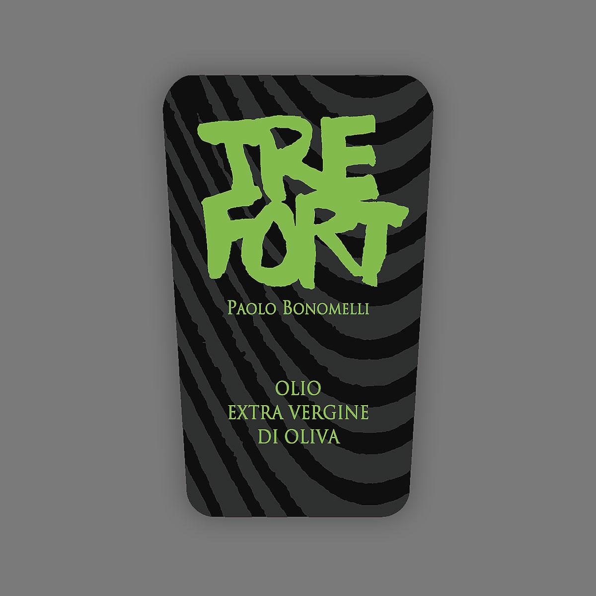 TreFort-Bonomelli, etichetta