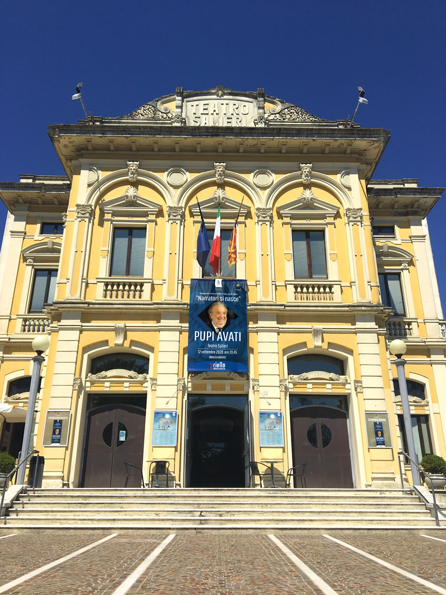 Pupi Avati - Teatro Salieri 1